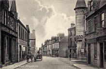 An historic image of Maybole, the location of the building in question in Stewart v Malik.